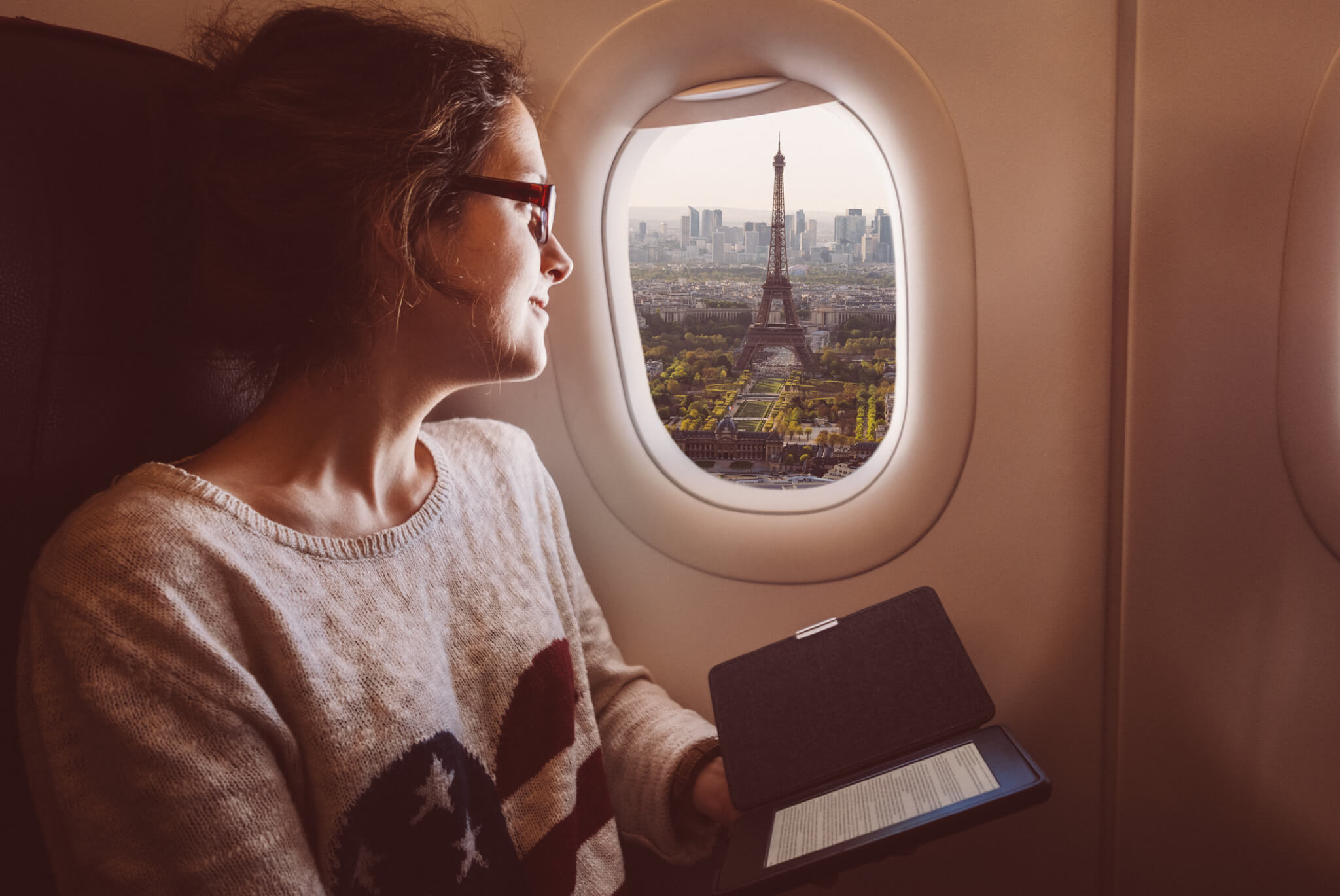Expatrié arrivant à Paris